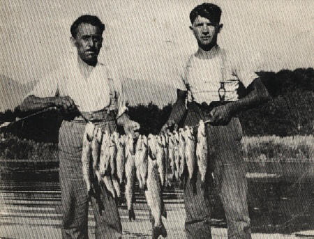 Volume e Gerry su pesca